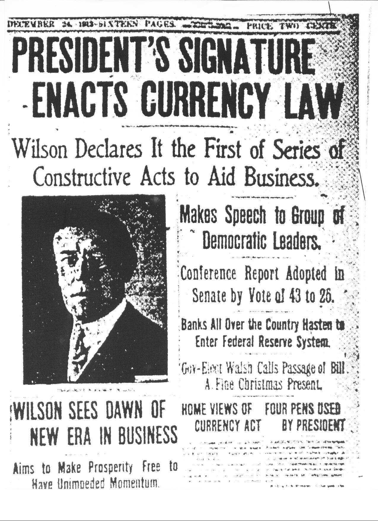 Federal Reserve Act of 1913 | Audio Panton, Cogito